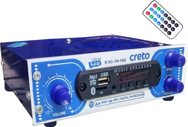 CRETO XN-1963 Digital FM Radio Bluetooth Speaker with Remote Supports AUX USB & SD Card FM Radio