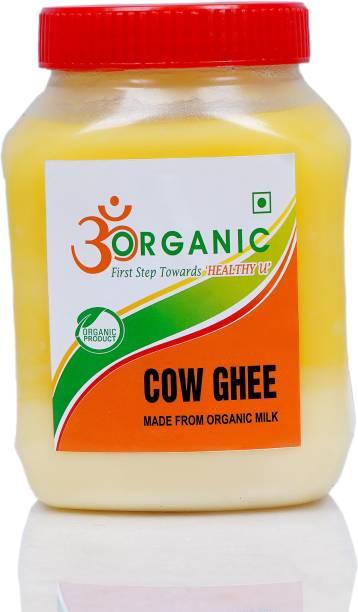 OM ORGANIC COW GHEE 1LTR 1000 ml Plastic Bottle