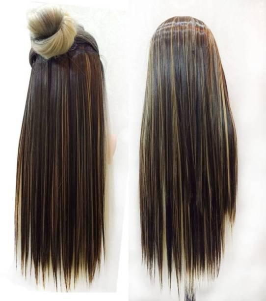 Alizz coloured kids highlighter hair Hair Extension