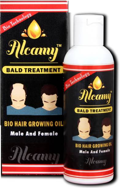 Alcamy Bald Treatment Hair oil / for baldness / for hair regrowth/ also for hairfall problems