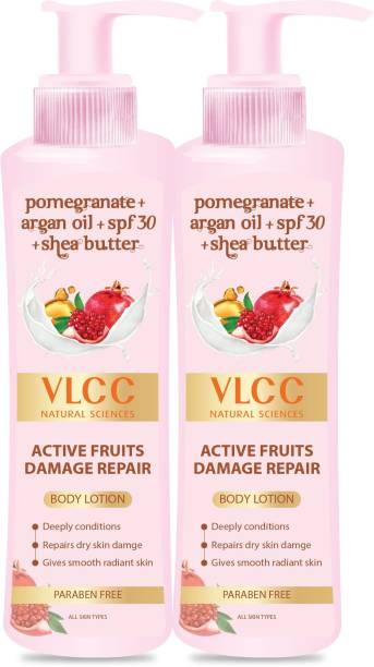 VLCC Active Fruits Damage Repair Body Lotion Spf 30 + Shea Butter