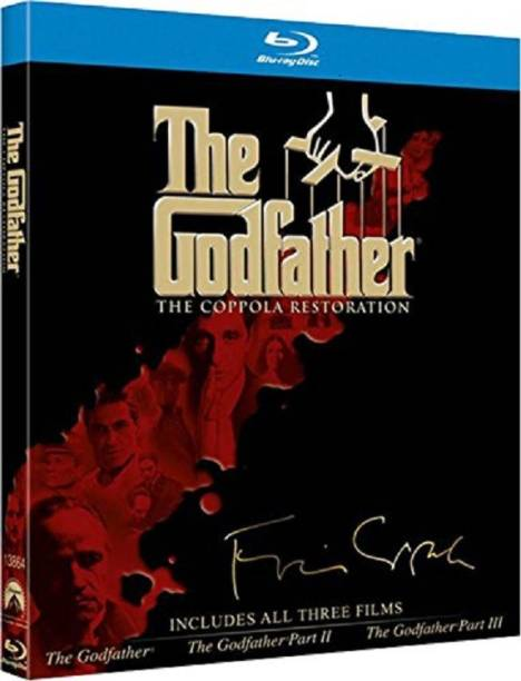 The Godfather Trilogy: The Coppola Restoration (Slipcase Packaging with Emboss + Collectible Booklet + Bonus Features Blu-ray)