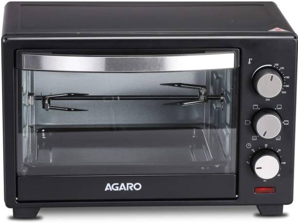 AGARO 25-Litre Marvel Series -25 L Oven Toaster Griller with Rotisserie Oven Toaster Grill (OTG)