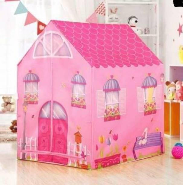 Vraj Villa umbo Size Extremely Light Weight, Water Proof Kids Play Tent House for 10-Year-Old Girls and Boys dollhouse