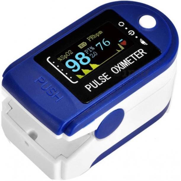 Nikush Fingertip Pulse Oximeter with OLED Digital Display Pulse Oximeter