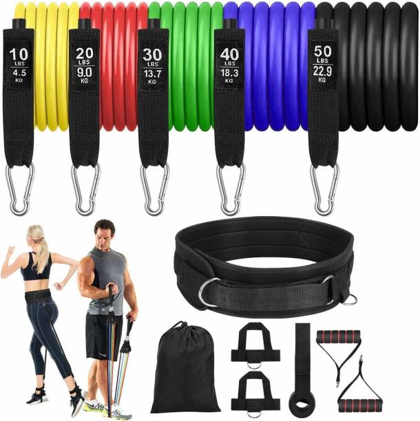 FAVOURITE MALL Resistance Band Tube Exercise for Men & Women (1 piece) Resistance Tube