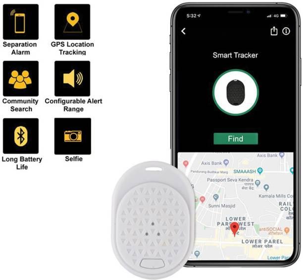Tag8 Dolphin Smart Tracker White - Wireless Bluetooth Anti-Lost Anti-Theft Alarm Device Tracker GPS Locator Safety Smart Tracker