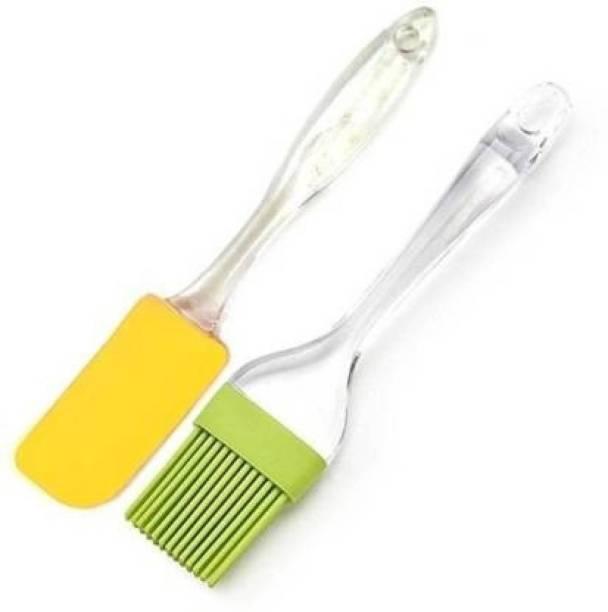ACAPELLA 0002 SILICONE Flat Pastry Brush Non-Stick Spatula