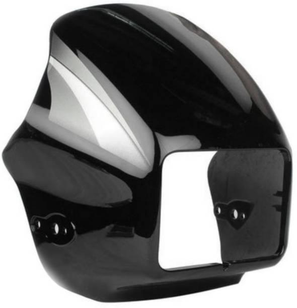manohar enterprises Splendor black Bike Headlight Visor