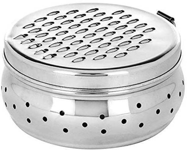 Dreamshop Stainless Steel Kitchen Cheese, Carrots, Potato, Cucumber, Vegetable And Fruit Grater with Container Box Storage kitchen Tool Set Salad Tool Carrot Grater