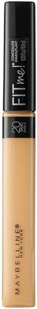 MAYBELLINE NEW YORK Fit Me Concealer, 20 Sand, 6.8ml Compact
