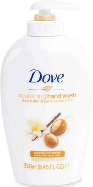 DOVE NOURISHING SHEA BUTTER & WARM VANILLA SCENT WITH MOISTURISING CREAM HAND WASH Hand Wash Pump Dispenser
