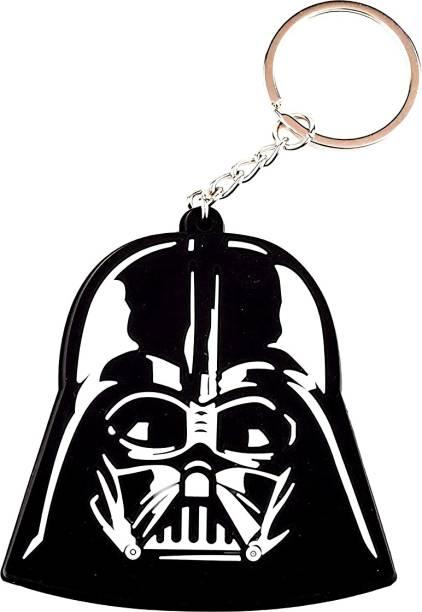 RVM Toys Double Sided Star Wars Anakin Skywalker Darth Vader Face Rubber Keychain Key chain for Car Bike Men Women Keyring Key Chain