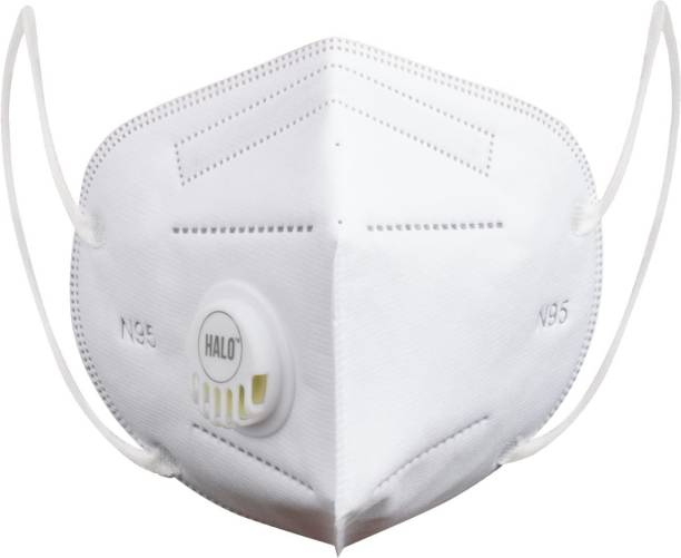 Halo N95 - 5 Layer Mask With Breathing Valve (Pack of 10)