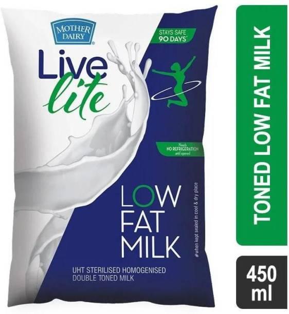 Mother Dairy Live Lite Low Fat Milk