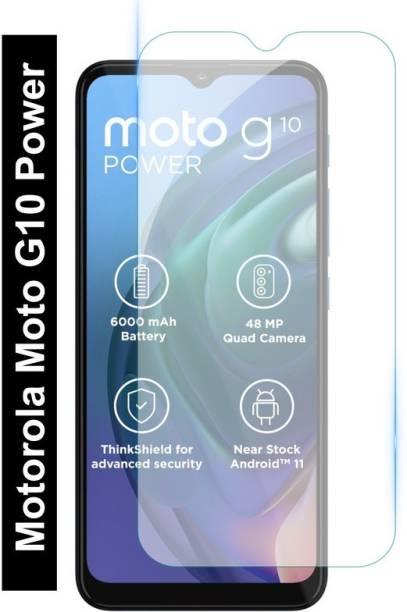 Fashion Way Tempered Glass Guard for Motorola Moto G10 Power