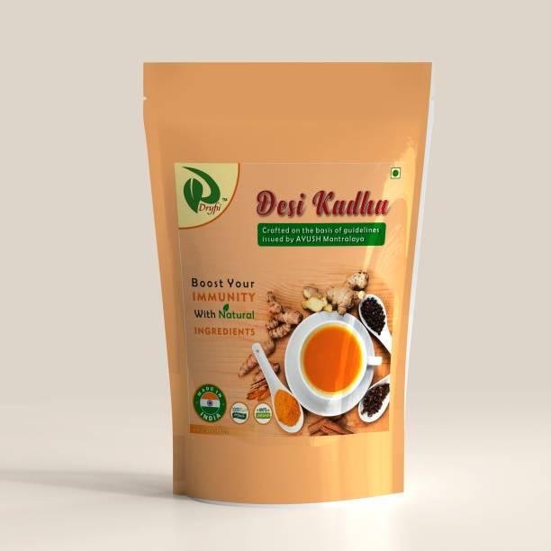 Dryfii Homemade Organic Natural Ayurvedic Immunity Booster Herbal Kadha (500 G) Spices Masala Tea Pouch