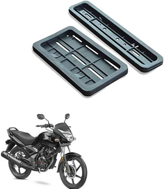 Vagary Bike Number Plate Frame (Standard Size for All Bikes) (Front & Back) -147 Bike Number Plate