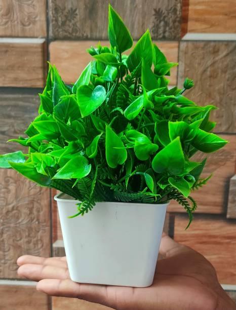 S-Biv Latest Multicolor Big Flower With Pot Bonsai Artificial Plant  with Pot