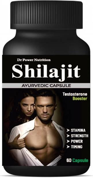 Dr Power Nutrition Shilajit long Sex for Men stamina strength Capsule