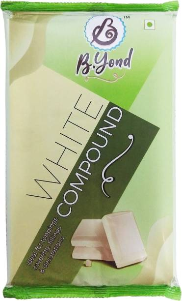 B.Yond White Compound Chocolate Baking Bars Solid