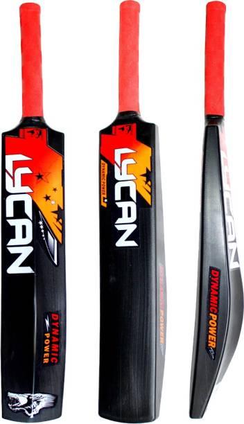LYCAN Beast Full Size Cricket Bat Age 15+ PVC/Plastic Cricket  Bat