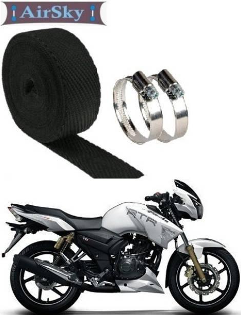 AIRSKY (3 Mtrs) Bike Exhaust Heat Shield Bike Exhaust Heat Shield