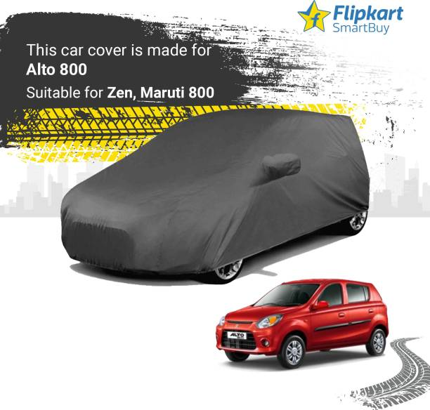 Flipkart SmartBuy Car Cover For Maruti Suzuki Alto 800 (With Mirror Pockets)