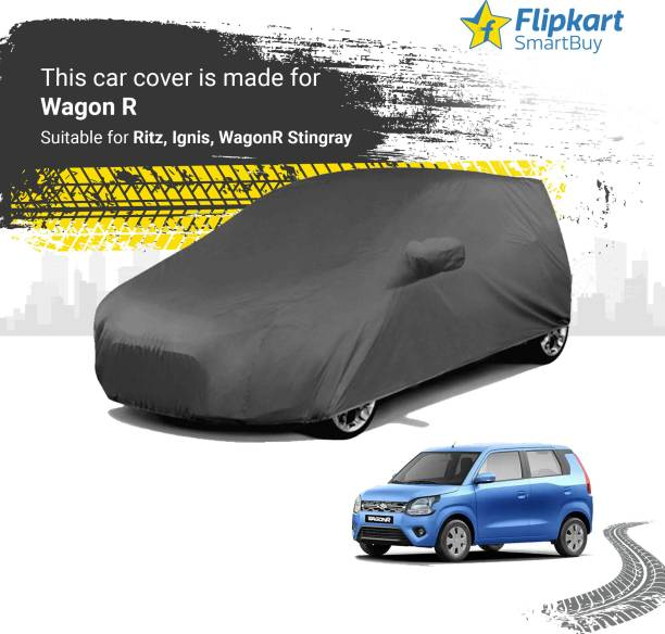 Flipkart SmartBuy Car Cover For Maruti Suzuki WagonR (With Mirror Pockets)