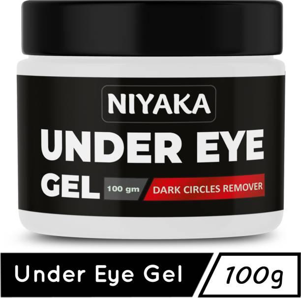 NIYAKA Under Eye gel for Relieving Dark Circles _Dark Circle Treatment_ Dark Spots _for men & women _100gm (100 g)