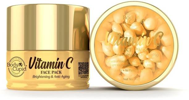 Body Cupid Vit C face Pack with Kakadu Plum and Mulberry Extract - Brightening and Anti Aging - 100 ml