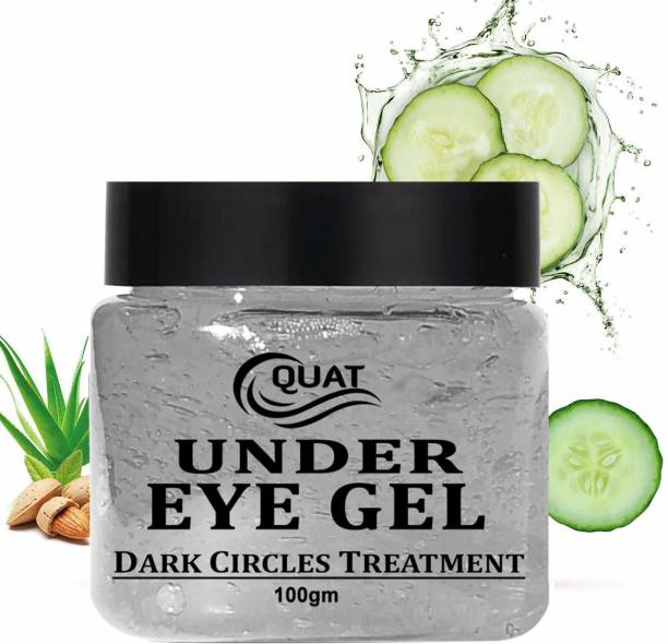 QUAT Pure Radiance Under Eye Gel - For Dark Circles, Puffiness, Wrinkles and Bags, (100 g, Normal Skin)