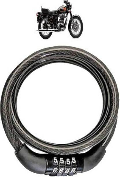 Getsocio Steel Cable Lock For Helmet