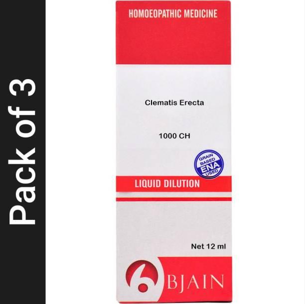 Bjain Clematis Erecta 1000 CH Dilution