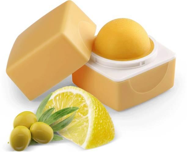 Organic Harvest Lemon Flavour Lip Balm Enriched With SPF & Benefits of Jojoba Oil, Vitamin E, Lemon Oil, For Women Dark Lips to Lighten | Kids/ Girls Lip Care for Dry & Chapped Lips | 100% Organic, Paraben & Sulphate Free Lip Gloss Lemon