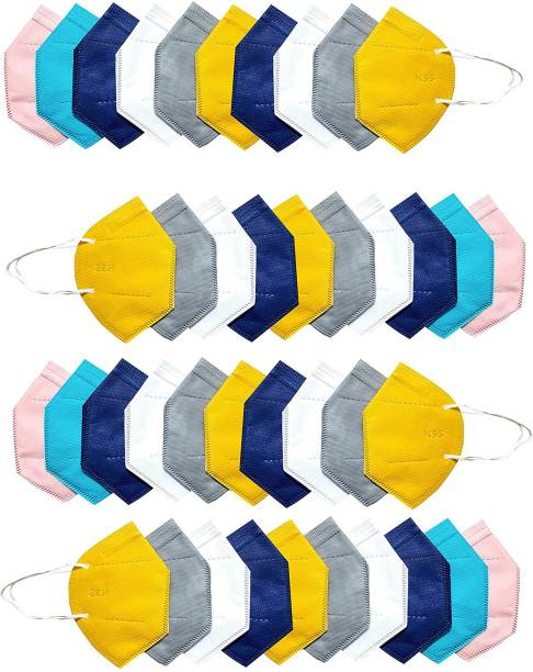 LeSafe Pack Of 40 Washable mask, Protection mask combo pack 5 layer Reusable mask, Anti Pollution mask, mask for men, women and kids Cloth Fabric N95 Reusable Mask N95--5 Layer Reusable Anti - Pollution , Anti - Virus Breathable Face Mask N95 Washable ( ) for Men , Women and Kids mask respirator GV601 Water Resistant, Reusable, Washable (, Free Size, ) Washable