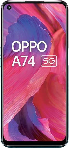 OPPO A74 5G (Fantastic Purple, 128 GB)