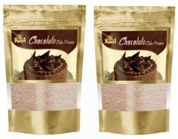 Mr.Kool Instant Cake Premix Combo | Chocolate Cake Premix | Chocolate Fudge Cake |200G Combo 200 g
