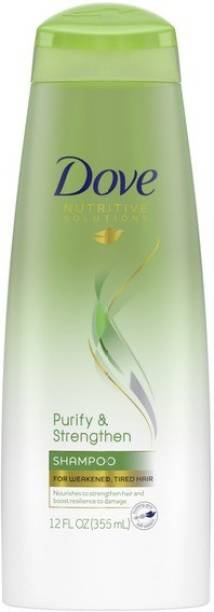 DOVE NUTRITIVE SOLUTIONS PURIFY & STRENGTHEN SHAMPOO IMPORTED