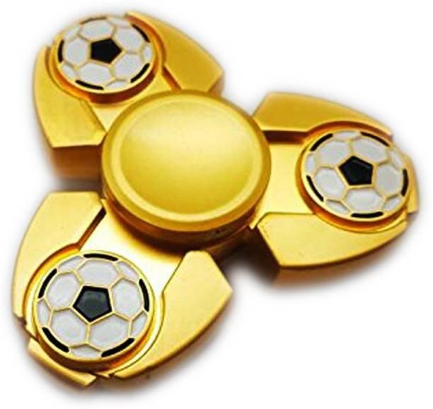 PREMSONS High Quality Metal Fidget Spinners Football Gold