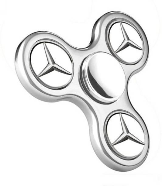 PREMSONS Fidget Spinner STAR Logo Anti Stress toy Silver
