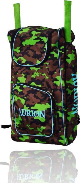 Aurion Cricket Bag Shoulder Straps Sports Cricket Kit Bag for 2 Bat Caves with 2 pockets