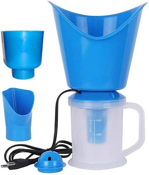 Easy 4 In 1 Steam Vaporizer, Nose Steamer, Cough Steamer,Facial sauna, Nozzle Inhaler & Nose vaporizer machine for cold and cough Vaporizer