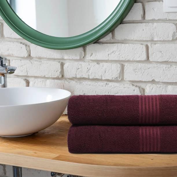 TRIDENT Cotton 380 GSM Bath Towel Set
