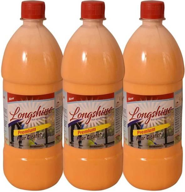 longshine Disinfectant Phenyl Surface & Floor Cleaner Liquid - Combo(1 Ltr Each, Pack of 3) NA
