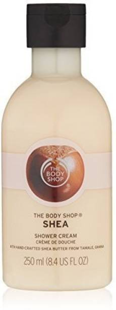 THE BODY SHOP shea shower cream imported (made in uk) 250 ml