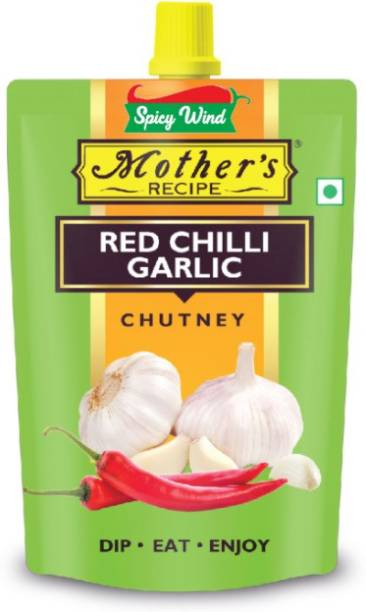 spicy wind Add that zing to your everyday snacks with this delectable mix of our red chilli garlic chutney 200 GM Chutney Paste
