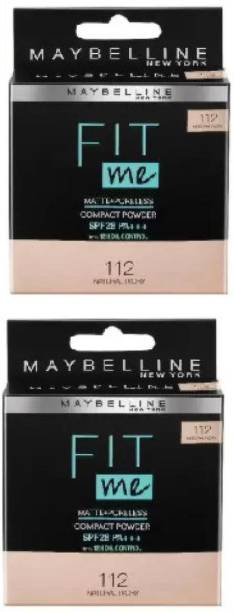 MAYBELLINE NEW YORK Natural Ivory 112 POWDER Compact
