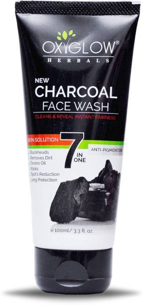 OXYGLOW charcoal face wash Face Wash