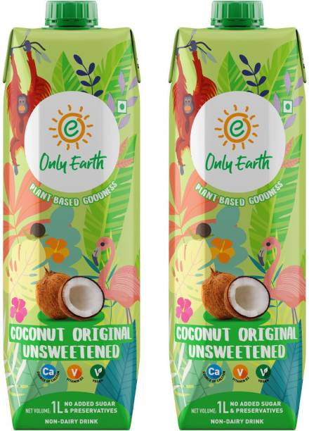 Only Earth Coconut Milk Unsweetened 2Pack